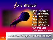 Dúo Sol y Manuel cantantes cubanos para amenizar tus fiestas
