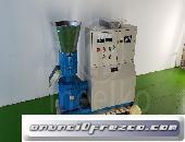 Maquina Meelko para pellets con madera 230mm electrica 120-200kg/h- MKDF230C
