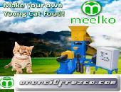 Meelko Extrusora para pellets alimentacion gatos 60-80kg/h 11kw MKED050C