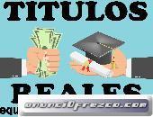 Titulos universitarios y tecnicos online  equiposespias@hotmail.com