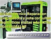 Servicio Técnico Notebooks y Pc