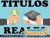 tramito Titulos universitarios y tecnicos  equiposespias@hotmail.com