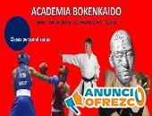 Boxeo, karate, aikido, defensa, nunchaku